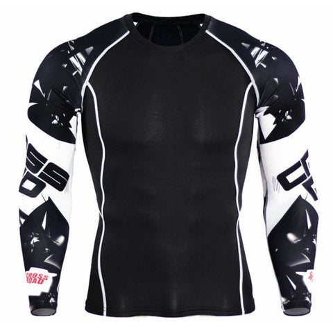 Teen Wolf 3D Compression Jerseys Mens Apparel