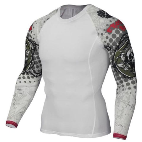 Teen Wolf 3D Compression Jerseys Tc124 / Asian S Mens Apparel
