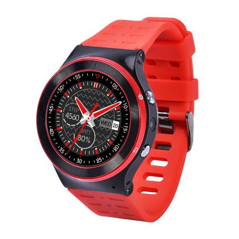 Android 5.1 Os Support Smart Watch Red Watch