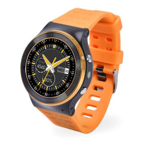 Android 5.1 Os Support Smart Watch Yellow Watch