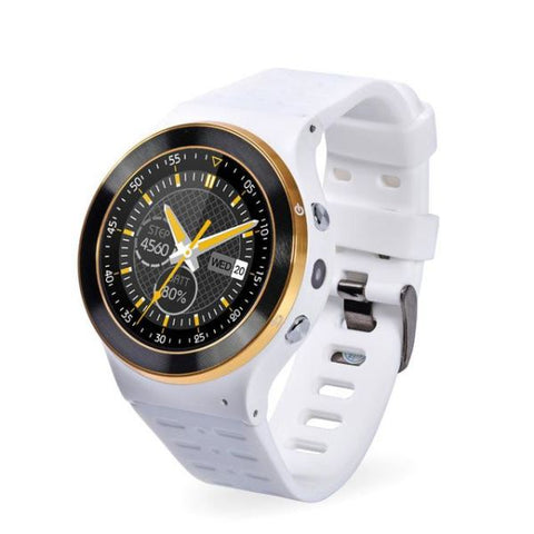Android 5.1 Os Support Smart Watch White Watch