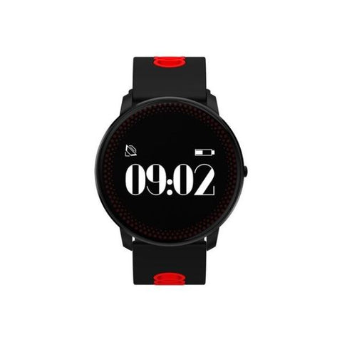 Awesome Fitness Tracker Smart Watch Black And Red Watch