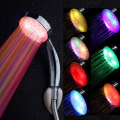 Rainbow Led Shower Head Household