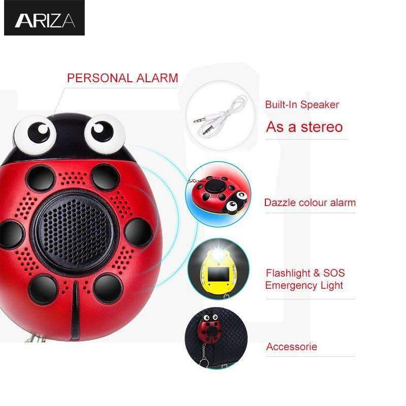 2 in 1 Music Speaker & 130 dB Personal Panic Alarm - Perfect for ...