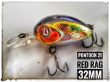 Pontoon 21 Red Rag 32mm MDR