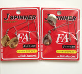 Fish Arrow J Spin Colorado Blade