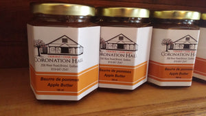 Apple Butter, set of three 190 mL jars