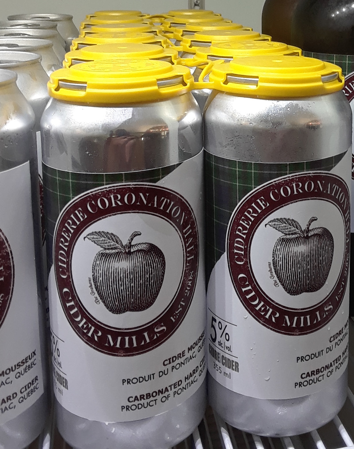 4-pack of Light Cider (cans) 5.5% al./vol.