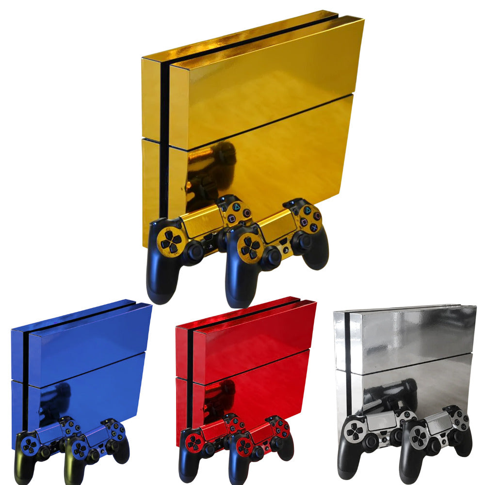 FLEX PRO SHINY VINYL PROTECTIVE PS4 SKIN STICKERS FOR CONSOLE AND CONTROLLER