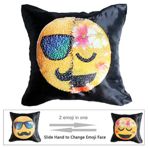 EMOJI REVERSIBLE PILLOW