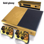 FLEX PRO GLOSSY GOLD XBOX 1 VINYL CONSOLE AND CONTROLLER STICKER