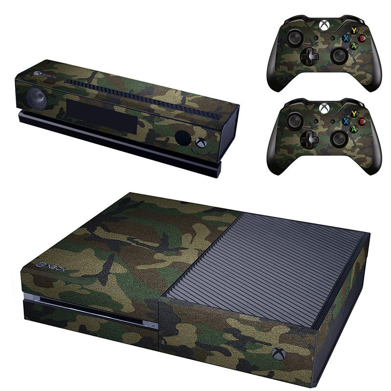 FLEX PRO ARMY CAMOUFLAGE CONSOLE AND CONTROLLER STICKER