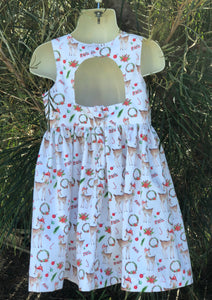 Traditional Reindeer - Tea Party Dress