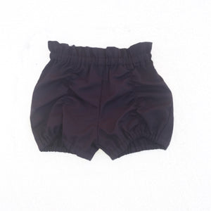 Pucker Shorts - Dark Plum