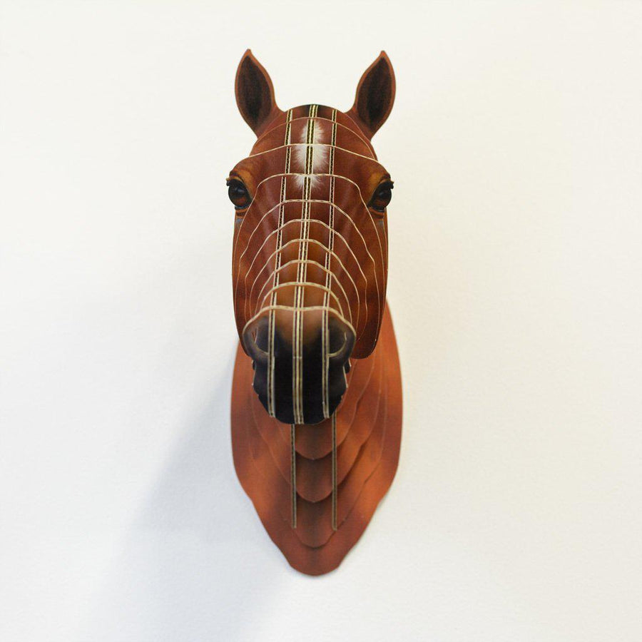 Cool Cardboard Horse Head-ShopRely
