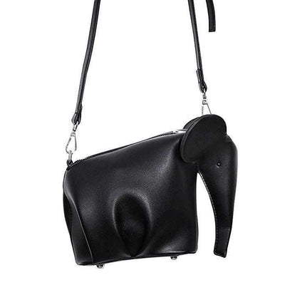Elephant Shape Handbag Pet ShopRely Black Mini(Max Length<20cm)
