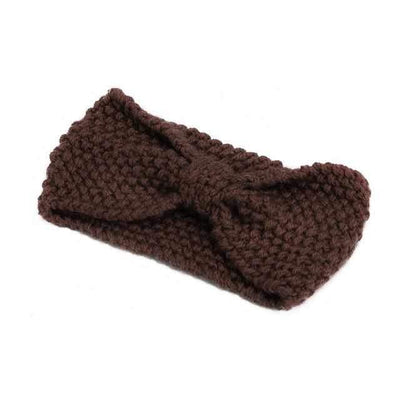 Knitted Headband ShopRely Coffee