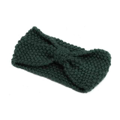 Knitted Headband ShopRely Green