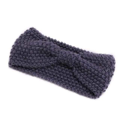 Knitted Headband ShopRely Gray