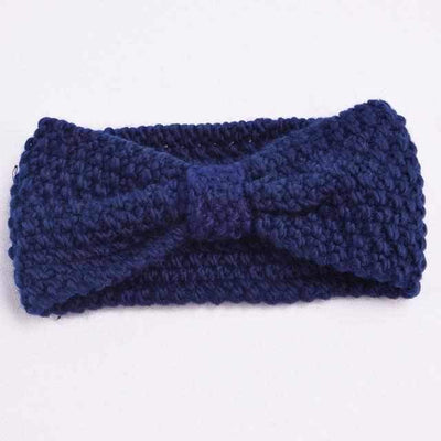 Knitted Headband ShopRely Blue