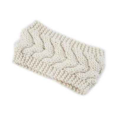Knitted Headband ShopRely White