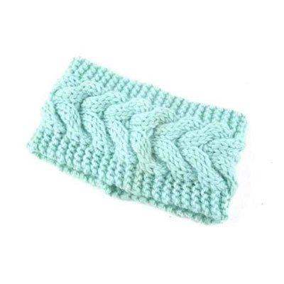 Knitted Headband ShopRely Green light