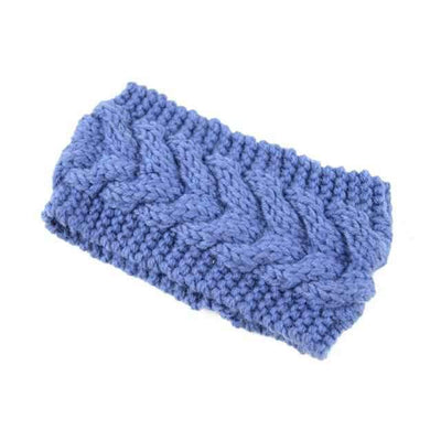 Knitted Headband ShopRely Blue light