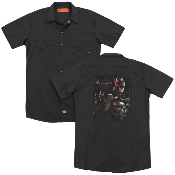 Batman Arkham Knight - Dark Knight(Back Print) Adult Work Shirt