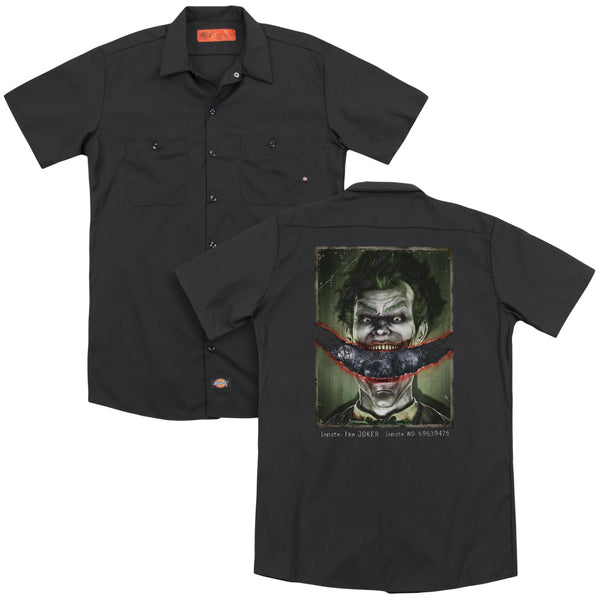 Batman Aa - Split Lip(Back Print) Adult Work Shirt