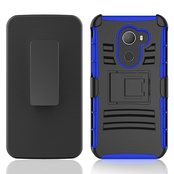 Alcatel A30 Plus / A30 Fierce 2017 / REVVL / Walters / 5049W Armor Belt Clip Holster Case