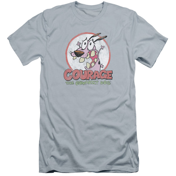 Courage The Cowardly Dog - Vintage Courage Premuim Canvas Adult Slim Fit 30/1
