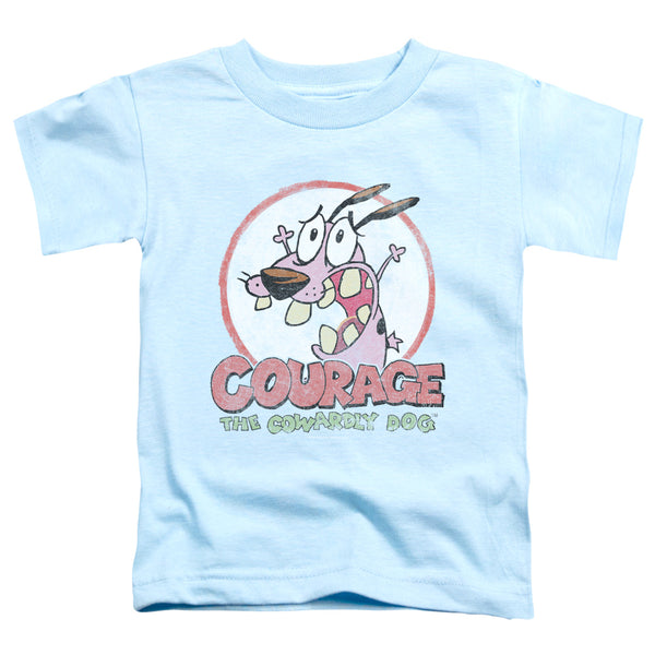 Courage The Cowardly Dog - Vintage Courage Short Sleeve Toddler Tee