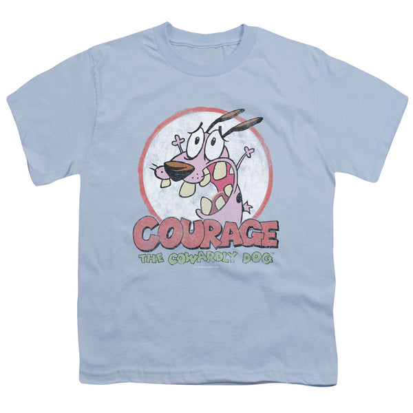 Courage The Cowardly Dog - Vintage Courage Short Sleeve Youth 18/1