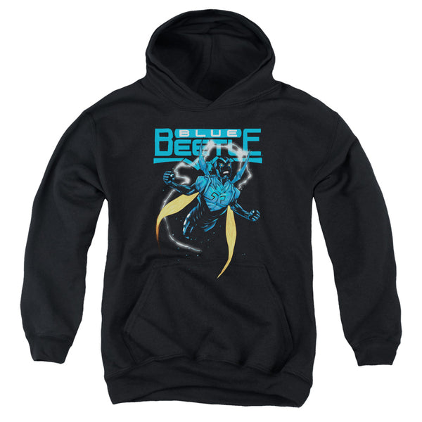 Jla - Blue Beetle Youth Pull Over Hoodie