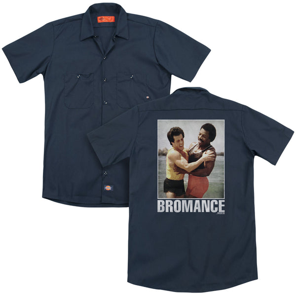 Rocky - Bromance(Back Print) Adult Work Shirt