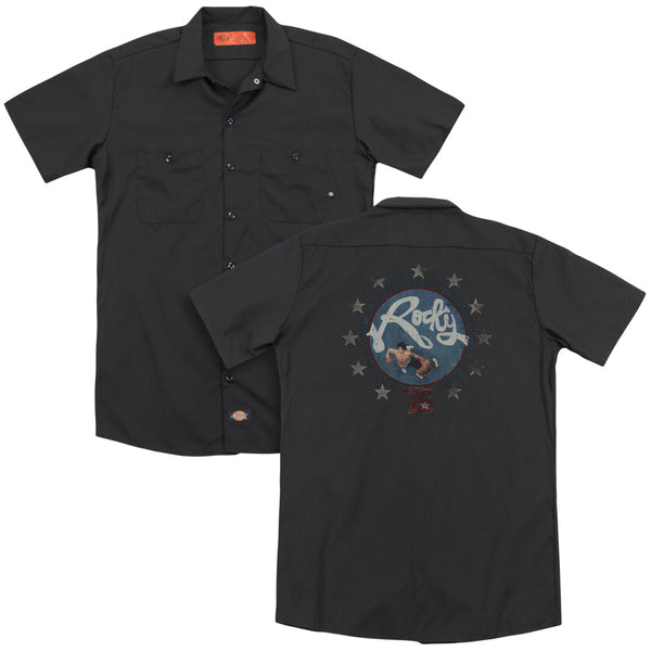 Rocky - Bloodiest Bicentennial (Back Print) Adult Work Shirt