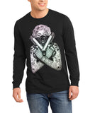 Marilyn Monroe Gangster Long Sleeve Shirt Assorted Colors