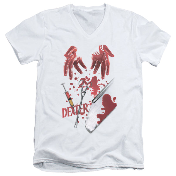 Dexter - Tools Of The Trade Short Sleeve Adult V Neck