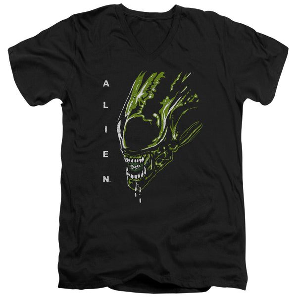 Alien - Acid Drool Short Sleeve Adult V Neck