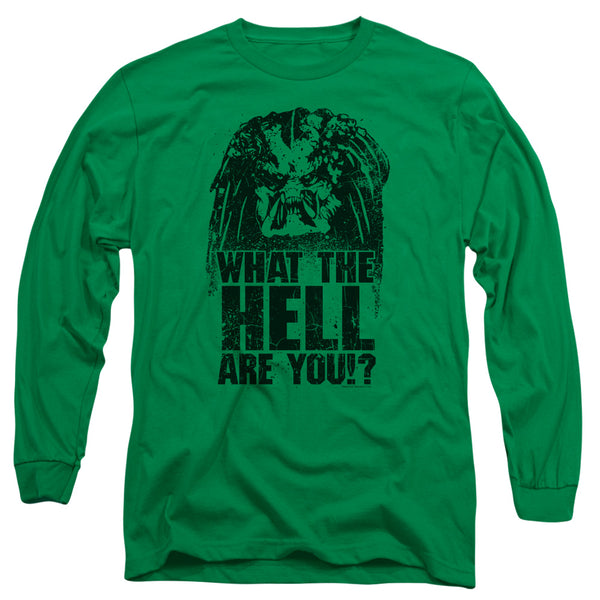 Predator - What Are You Long Sleeve Adult 18/1