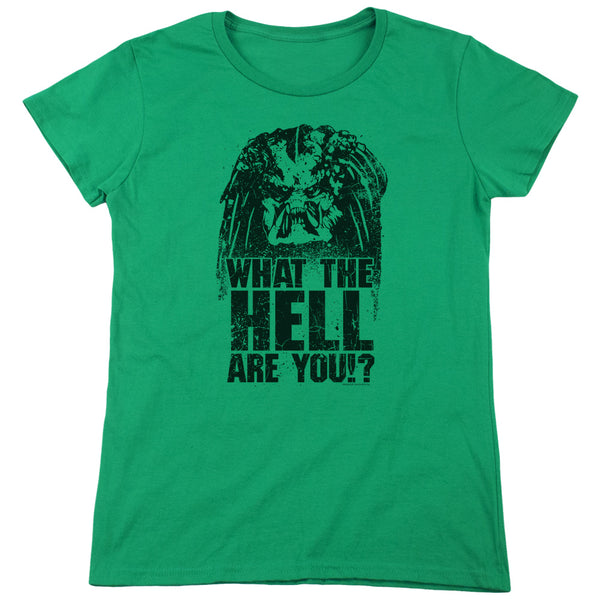 Predator - What Are You Short Sleeve Women's Tee