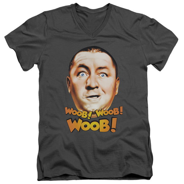 Three Stooges - Woob Woob Woob Short Sleeve Adult V Neck