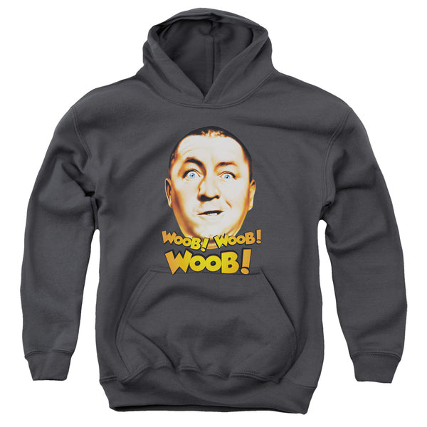 Three Stooges - Woob Woob Woob Youth Pull Over Hoodie