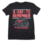 A Day To Remember No War No Peace T-Shirt