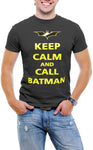 Keep Calm and Call Batman Men T-Shirt Soft Cotton Short Sleeve Tee