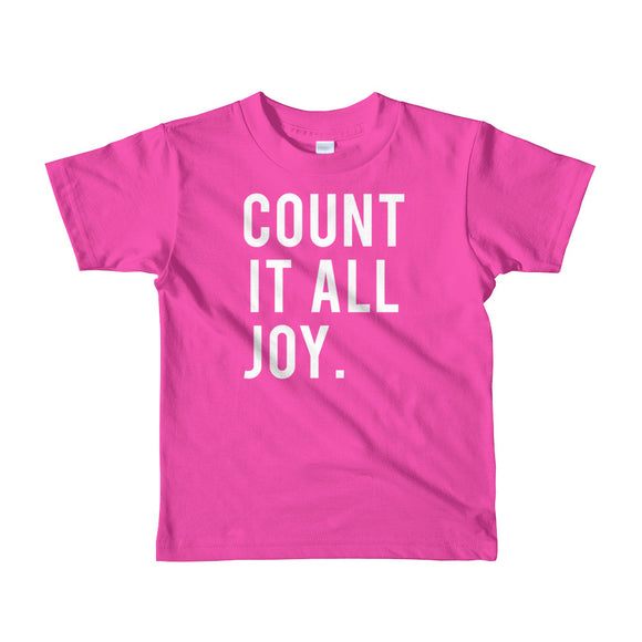 Count It All Joy Kids T-Shirt
