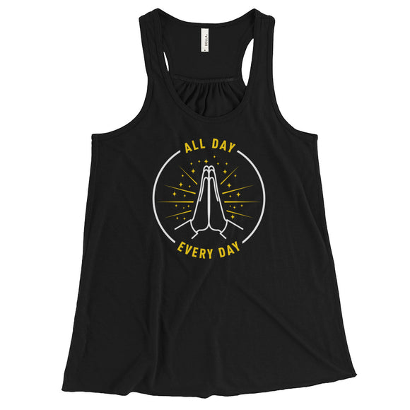 All Day Women's Flowy Racerback Tank