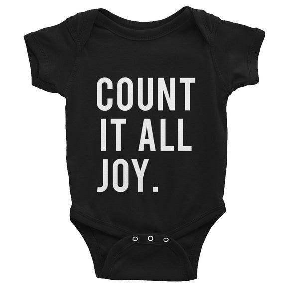 Count It Joy Infant Bodysuit