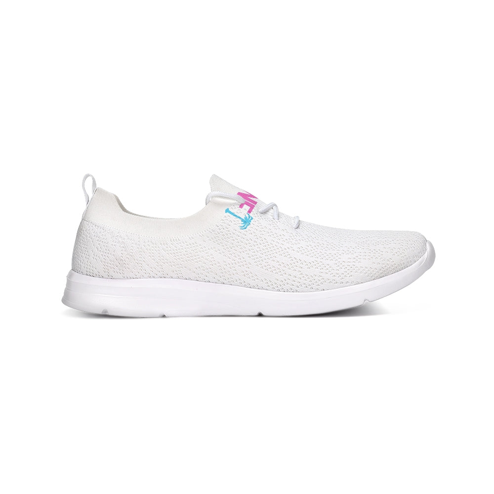 Miami Vice Lifestyle Lace Up Flyknit Shoe