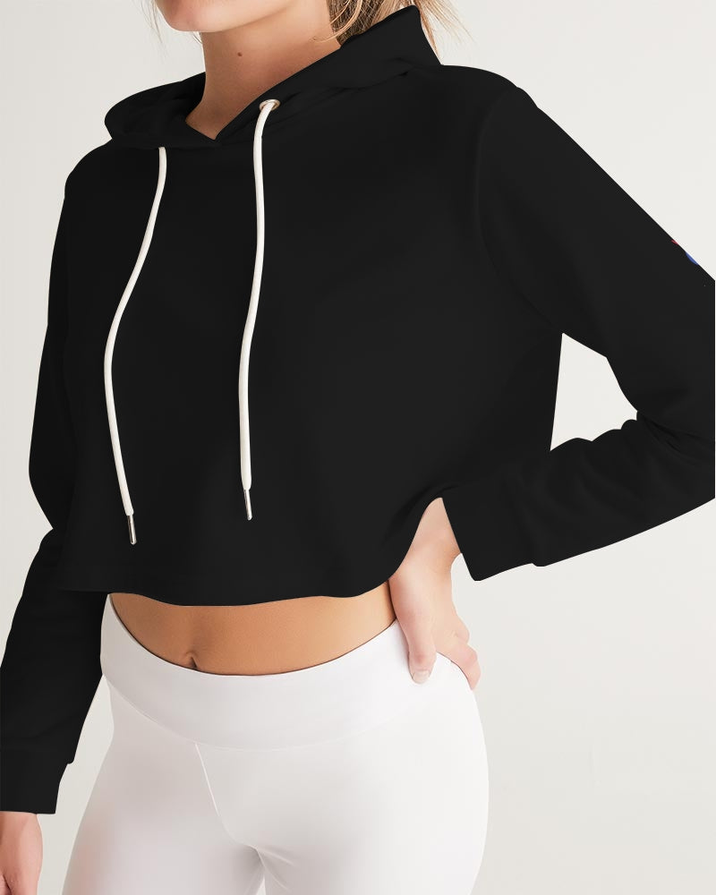 Black Collection  Women's Cropped Hoodie